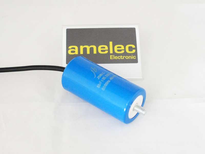 Motor-Start-Kondensator JSW-C/330VAC/80uF/-10/+20%