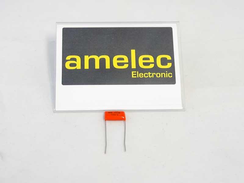 Polyester Film-Kondensator MSR 1103470KDL/0.47uF/100VDC/10%
